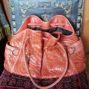 Cole Haan large Denney woven bag